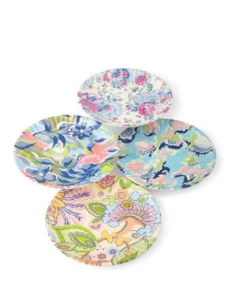 Paris Market Melamine Dinner Plates 4-Piece Assorted Set  sc 1 st  Horchow & Parisian Picnic Basket u0026 Paris Market Dinnerware