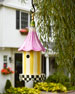 Morning Glory Birdhouse