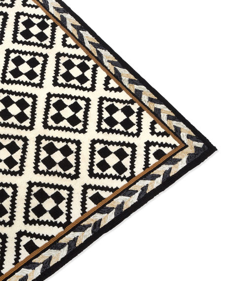 Courtyard Outdoor Rug, 5' x 8'