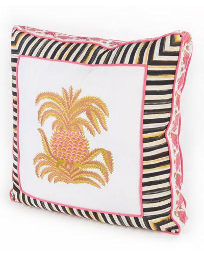Palm Court Pillow