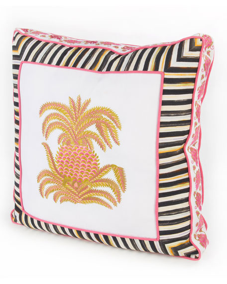 MacKenzie Childs PALM COURT PILLOW