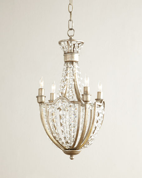 Cristabel 4-Light Crystal Chandelier