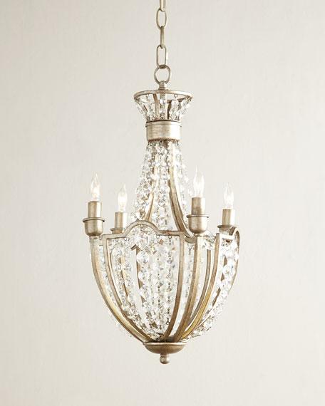 Cristabel 4 light crystal chandelier