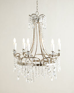 Katia 6-Light Crystal Chandelier