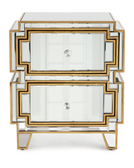 Willow Mirrored Chest