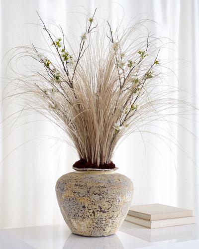 Twilight Garden Faux-Floral Arrangement