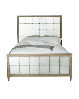 Marisala Mirrored King Bed