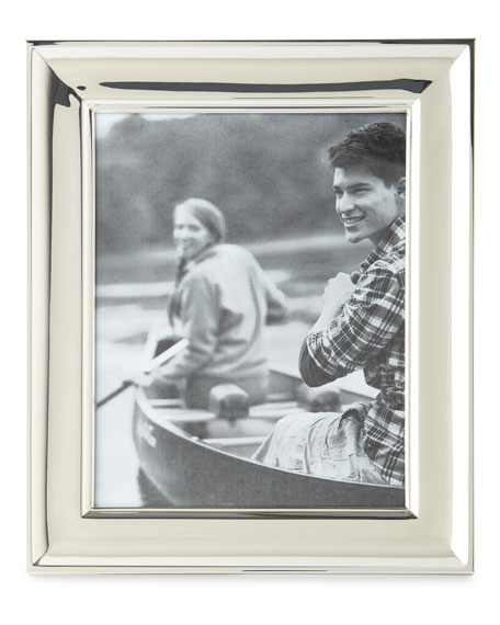 "Cove Silver 8"" x 10"" Picture Frame"