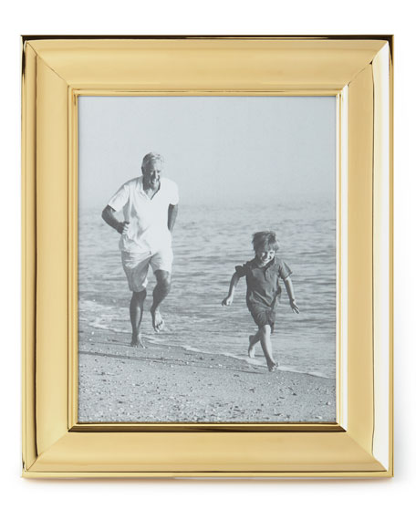 "Cove Gold-Tone 8"" x 10"" Picture Frame"