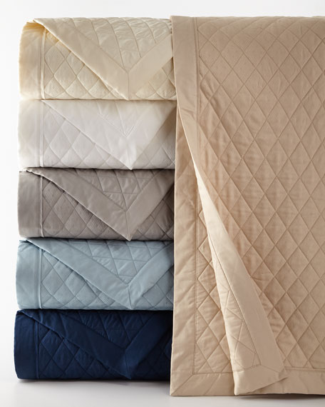 Full/Queen Bedford Quilted Coverlet