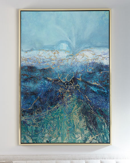 """""""Look to the Horizon"""" Giclee on Canvas Wall Art"""