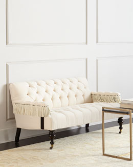 Church Hill Tufted Settee