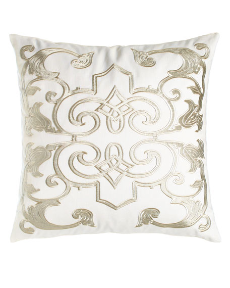 "Mozart Pillow, 24""Sq."