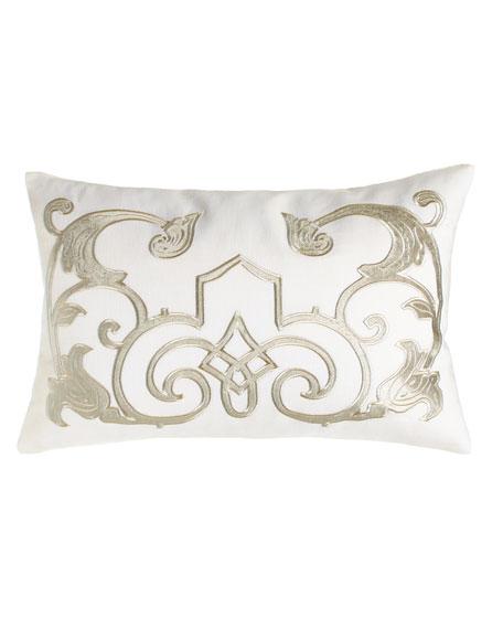 """Mozart Pillow, 14"""" x 22"""""""