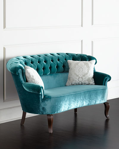 Lulu Tufted Settee
