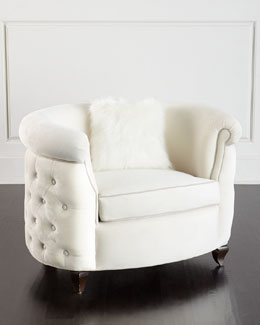 Miss Madison Tufted Chair