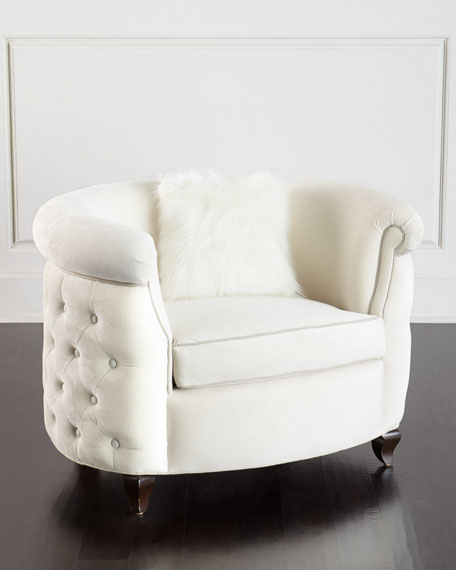 Haute House Miss Madison Tufted Chair