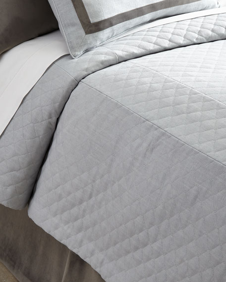 King Jefferson Quilted Bed Cap