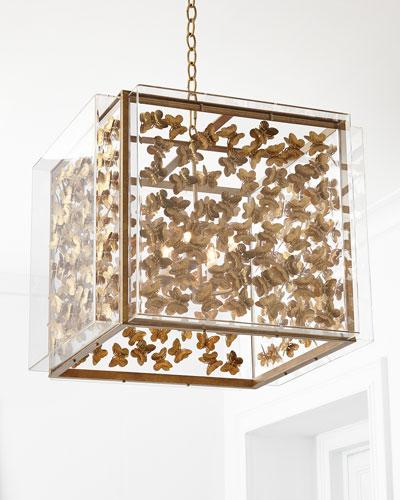 Medium Butterfly 4-Light Pendant