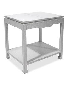 Jonathan Adler Preston White Side Table