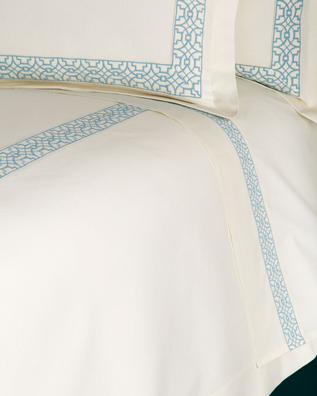 King Ming Embroidered Sheet Set
