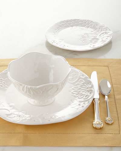 12-Piece Honeycomb Dinnerware Service
