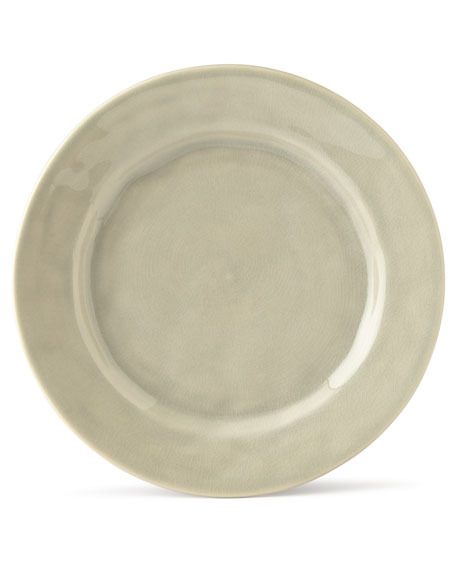 Juliska Puro Mist Grey Crackle Dessert/Salad Plate