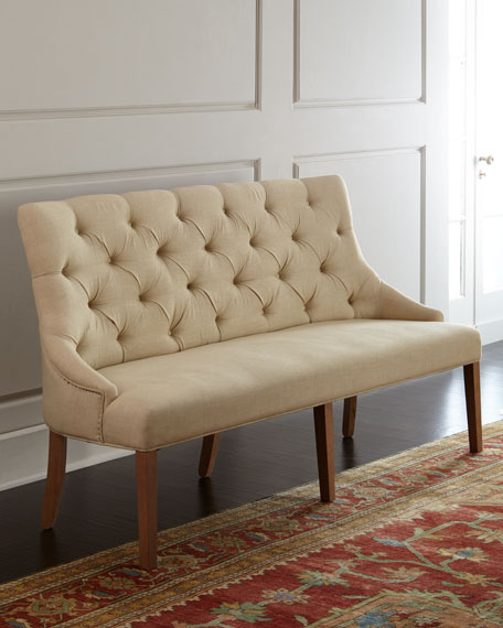 Best Banquette Online: Hooker Furniture Floral Wing Chair, Julissa Banquette