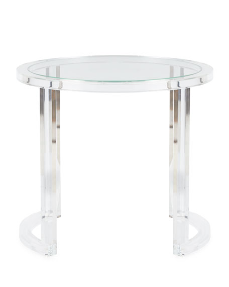 Superieur Abella Acrylic Entry Table