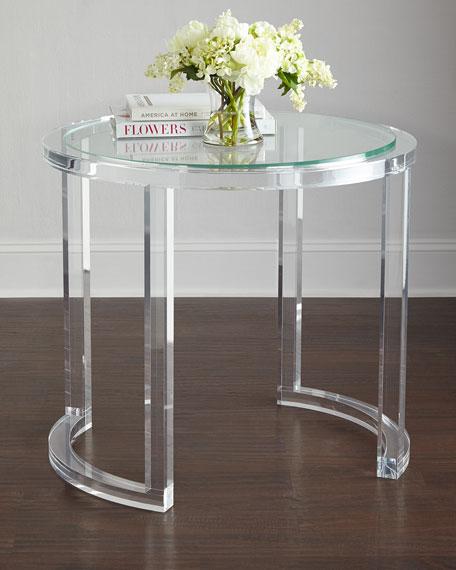 Abella Acrylic Entry Table