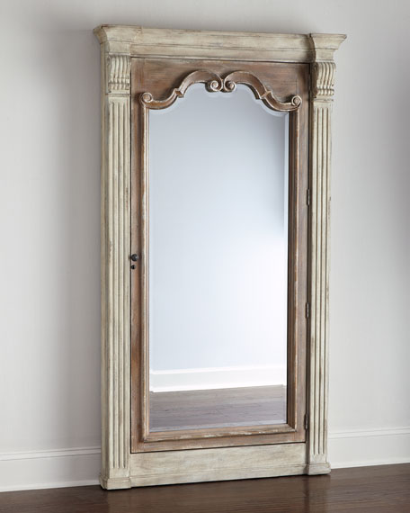 Meara Jewelry Storage Mirror