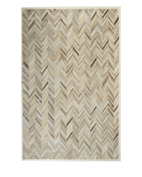 "Maguire Hairhide Rug, 9'6"" x 13'6"""