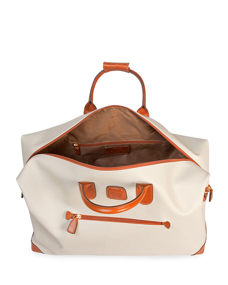 "Firenze Cream 22"" Cargo Duffel Luggage"