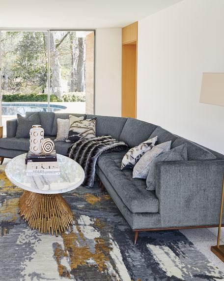 Capri Curved Sectional Sofa