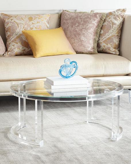 Interlude Home Shonda Acrylic Coffee Table