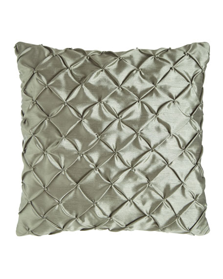"Cannes Knotted Pillow, 20""Sq."