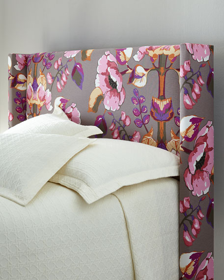 Mariah King Wingback Headboard