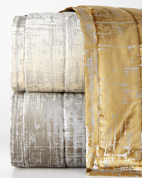"Moderne Padded Throw, 68"" x 96"""