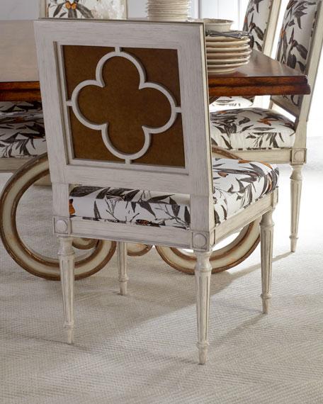 Augustus Quatrefoil Side Chair