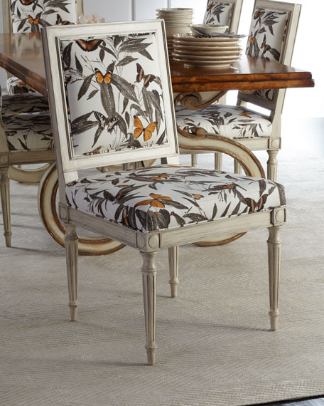 Augustus Quatrefoil Side Chair