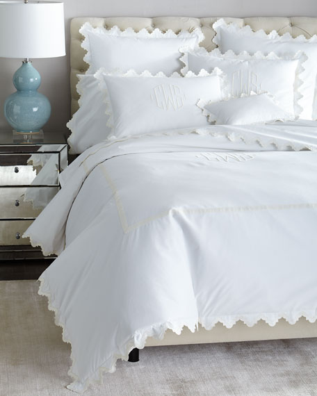 Full/Queen Elora Duvet Cover, Plain
