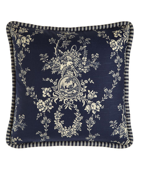 European Country Toile Sham