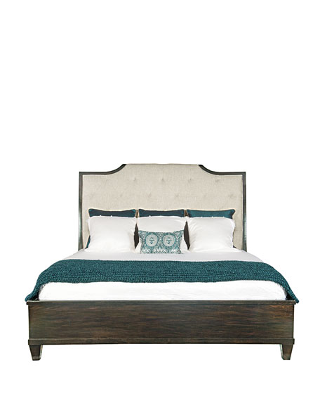 Bernhardt Sutton House Tufted Queen Bed