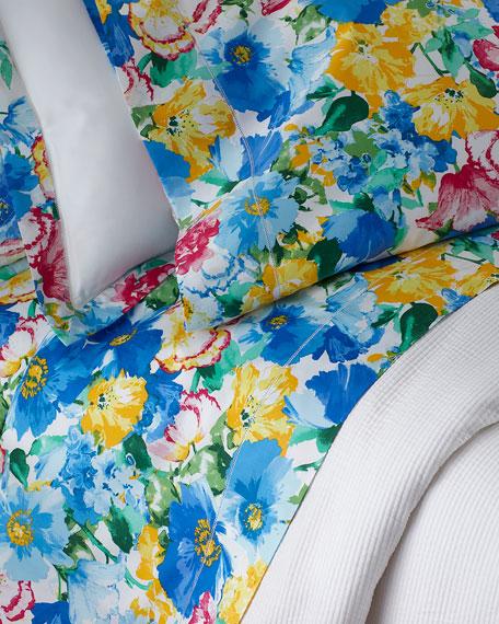 Two King 300TC Ashlyn Floral Pillowcases