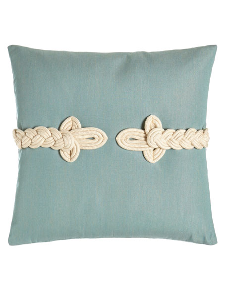 Frog-Clasp Pillow