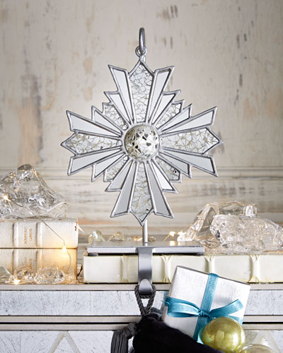 Arctic Frost Christmas Stocking Holder