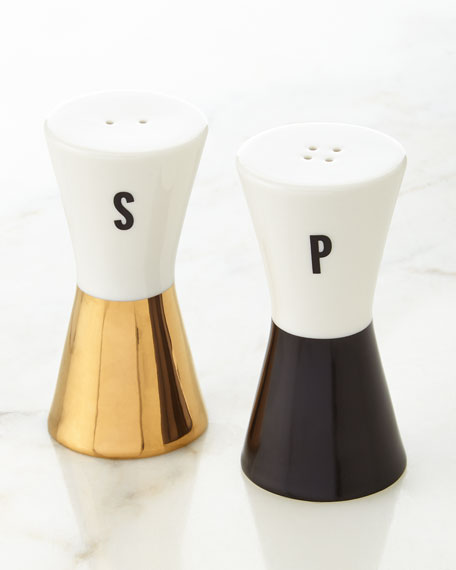 Fairmont Park Bow Salt & Pepper Set