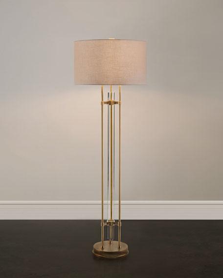 Merveilleux John Richard Collection Glass Spear Floor Lamp
