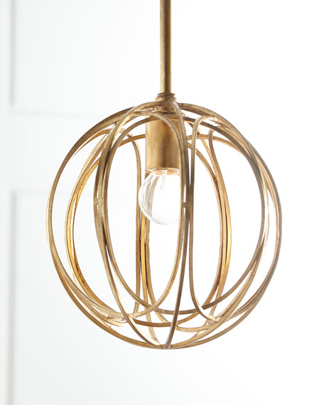 Regina Andrew Design Ofelia Small 1-Light Pendant