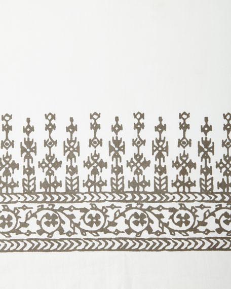 Queen Makki Percale Duvet Cover